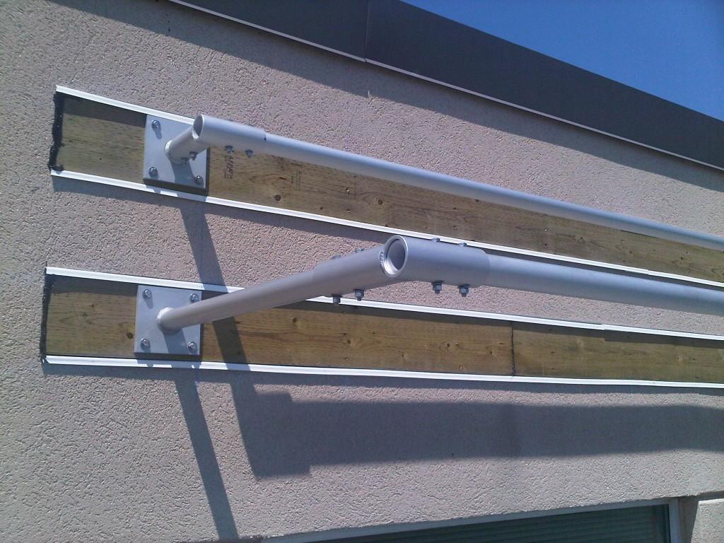 Wall Kinetic Solar Racking And Mounting