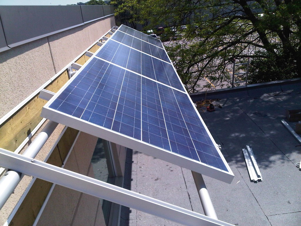 Wall Kinetic Solar Racking And Mounting