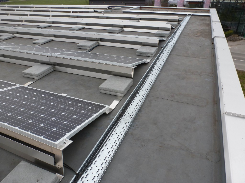 Flat Roof Kinetic Solar Racking And Mounting