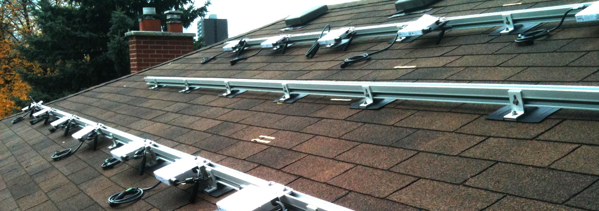 Shingled Roof Kinetic Solar Racking And Mounting