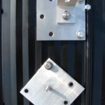 Two ways of mounting our metal roof mount block
